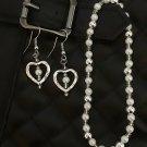 Sweetheart Earring & Bracelet Gift Set