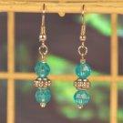 Paisley-Blue Dollar Deal Earring Set