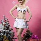 Glitter Snowflake holiday Lingerie