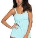 Light Blue 2pcs Swing Tankini Swimsuit