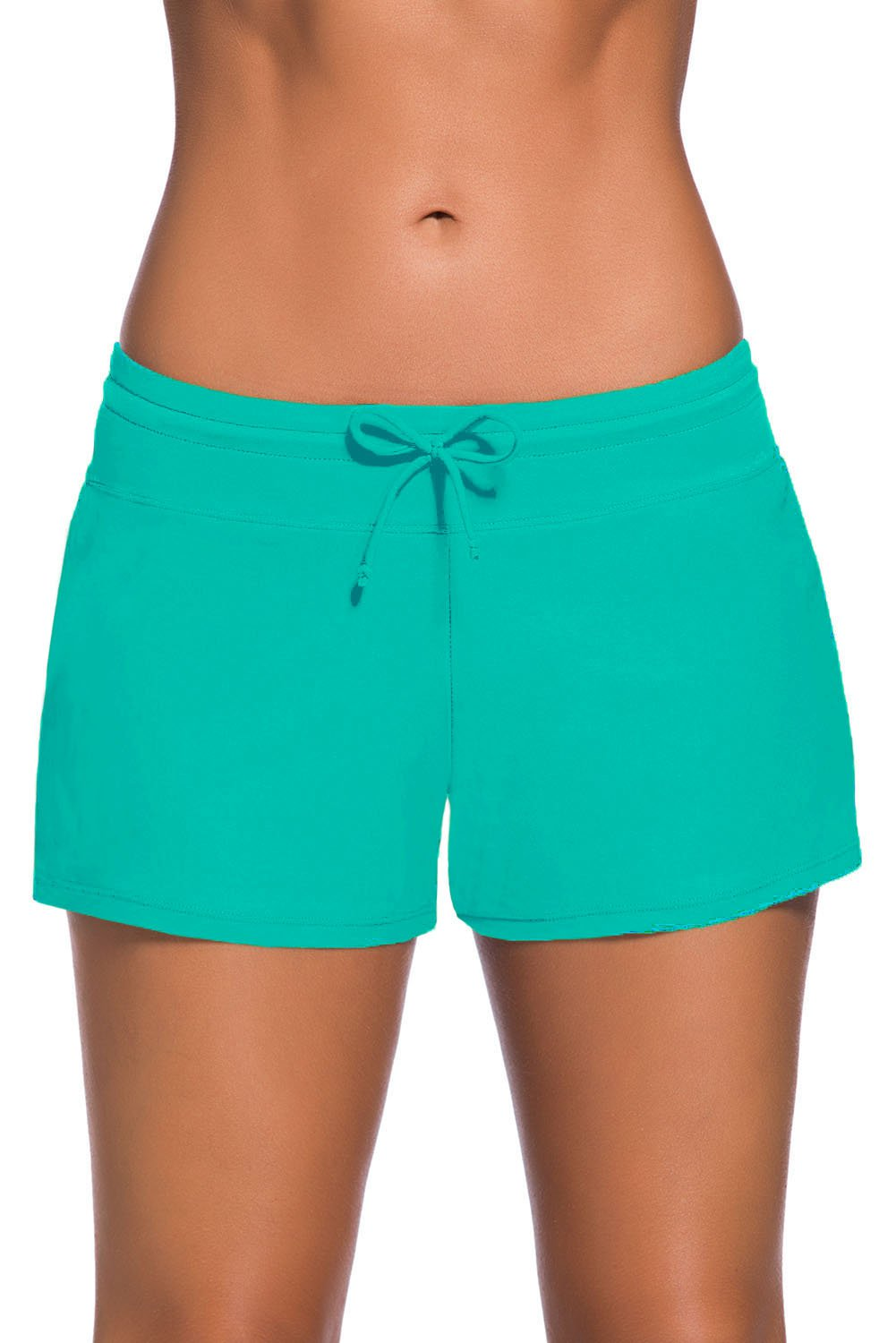 Green Women Swim Boardshort