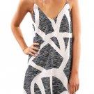 Scattered Zebra Print Short Dress