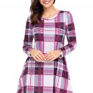 Preppy Plaid Mini Dress
