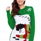 Green Got Run Over By Reindeer Christmas Sweater