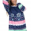 Navy Julep Print Stylish Christmas Jumper