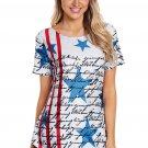 The Declaration of Independence Asymmetric Hem T-shirt