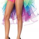 Ribbon Tie Rainbow Tulle Petticoat