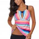 Rose Multicolor Tankini Swimwear