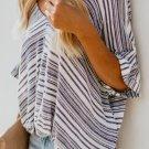 Blue Estate Knit Twist Top