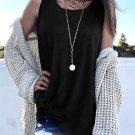 Black Knot Front Jersey Tank