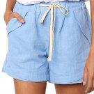 Sky Blue Faylin Shorts