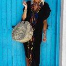 Multicolor Floral Tassel Printed Casual Summer Dress