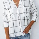 White Airplane Mode Cotton Pocketed Top