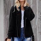 Black Niagara Falls Pocketed Sherpa Jacket