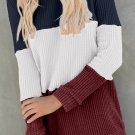 Red Miller Colorblock Cozy Thermal Top