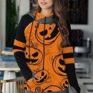 Orange Halloween Pumpkin Hoodie