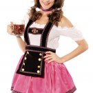 4PC Sweet Flirting Beer Babe Costume