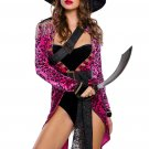 Sexy Swashbuckler Halloween Pirate Costume