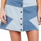 Here Goes Nothing Denim Skirt