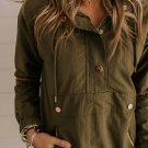 Green Morris Hooded Jacket