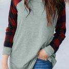 Red Buffalo Plaid Long Sleeve Sweatshirt