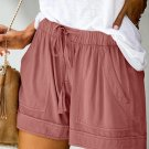 Dusty Pink Strive Pocketed Shorts