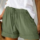 Green Strive Pocketed Shorts