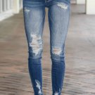 Destroyed Skinny Fit Jeans