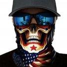 Skull Flag Sun UV protection Face Mask
