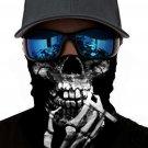 Skull Skeleton Sun UV protection Face Mask