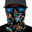 Bloosom Print Face Mask and Neck Warmer with Sun UV Protection