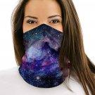 Galaxy Multifunctional Headwear Face Mask Headband Neck Gaiter