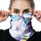 Butterfly Print Outdoor Cycling Sport Headscarf Face Mask