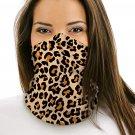 Leopard Multifunctional Headwear Face Mask Headband Neck Gaiter