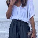 Blue Strive Pocketed Shorts