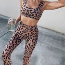 Leopard Print Yoga Sets