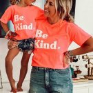 Kids' Be Kind Print Family Matching Graphic T Shirt