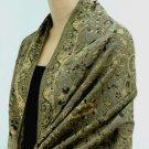 Pashmina Wool Scarf Long Wrap Shawl 827 11
