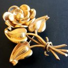 Vintage Brooch Signed Mexico Estate Jewelry Costume Pin