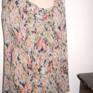 Antonio Melani Size Small S Top  BlouseCareer Multicolor New without Tag Long Sl