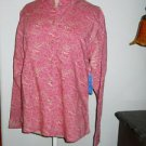 Wrangler Blues Shirt Size M Pony Horse Career Top Cowgirl Print Long Sleeve New