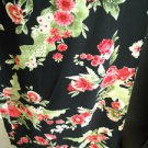 Emma James Size 12 Floral 2 Piece Skirt Suit Black Pink Gorgeous Floral New NWOT