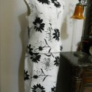 Jessica Howard Size 10 Floral Linen Blend New Sleeveless 2 Piece Skirt Suit Flaw