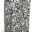 Chaus Skirt Size 8 Black Beige Floral Mid-Calf Long Lined Great Fall Basic New