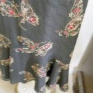 Emma James Reversible Skirt Set 16 Career Floral BrownBeige Multicolor New NWOT