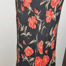 Floral Skirt Size 14 Flowers Blushe Impressions Ankle Long Rayon Fully Lined New
