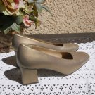 Bandolino 8.5 M Heels Genuine Leather Shoes New Floor Sample Clean Pumps