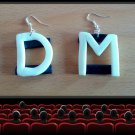 Depeche Mode fan earrings