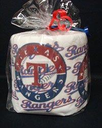 Texas Rangers Heat Pressed Toilet Paper