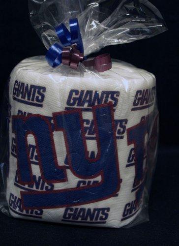 NY Giants Heat Pressed Toilet Paper